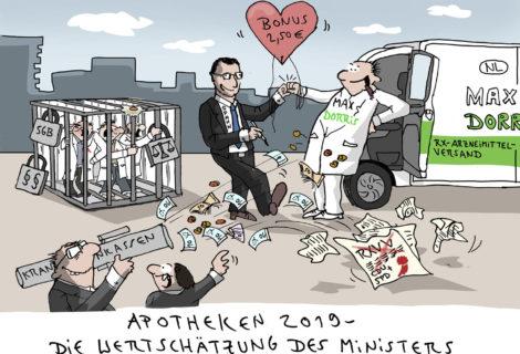 Apotheken 2019 – Die Wertschätzung des Ministers